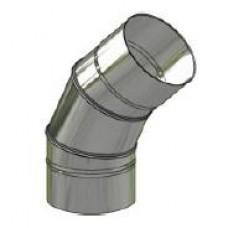 Koleno nerez stálé ø 200 mm / 45°