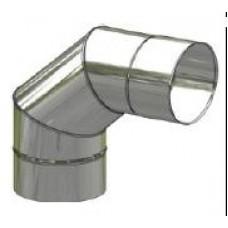 Koleno kouřovodu nerez stálé ø 150mm / 90°