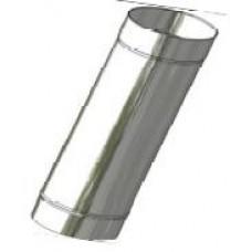 Kouřovod nerez ø 130mm délka 250mm 0,6mm