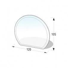 Podkladové tvrzené sklo pod kamna Lienbacher 21.02.883.2