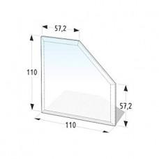 Podkladové tvrzené sklo pod kamna Lienbacher 21.02.982.2
